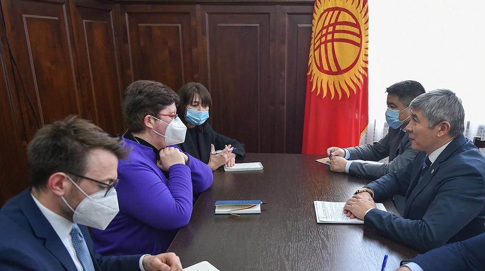 Германия готова помочь Кыргызстану в реализации политики зеленой экономики